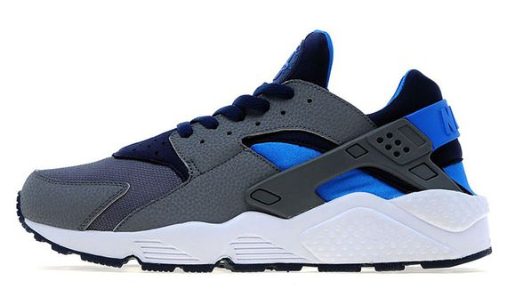 nike air huarache midnight navy cool grey04