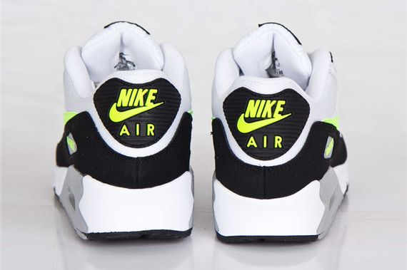nike-air max 90-white-volt