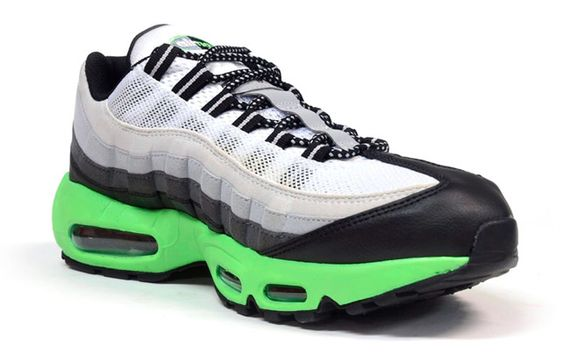 Nike Air Max 95 Green And Grey
