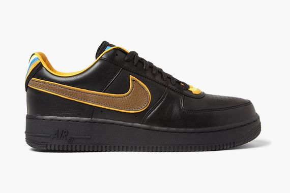 nike-riccardo tisci-air force 1-black