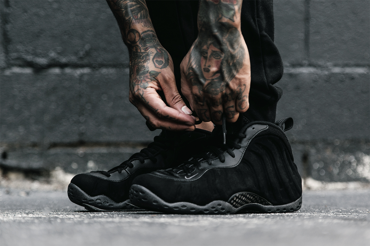 Nike Air Foamposite One Suede aka Triple Black Official ...