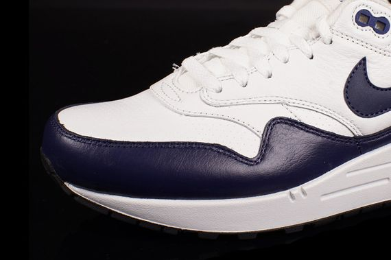 nike-air max 1-leather-white-navy