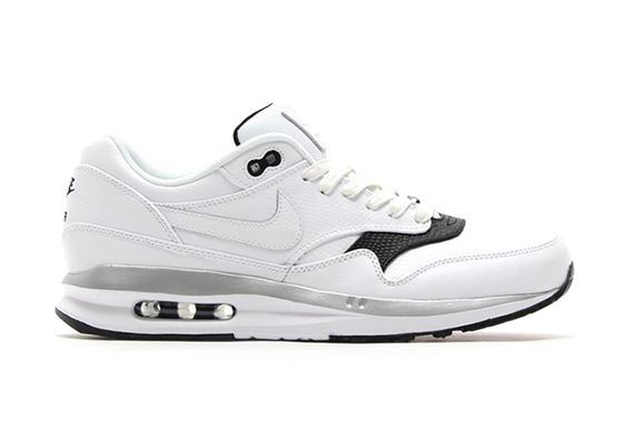 nike-air max lunar1-white leather