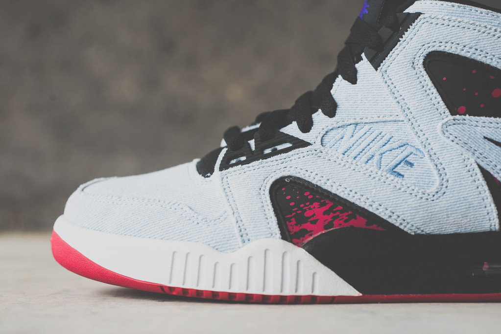 super popular d6017 efe03 ... ireland nike air tech challenge hybrid washed denim available 657ae  50cff
