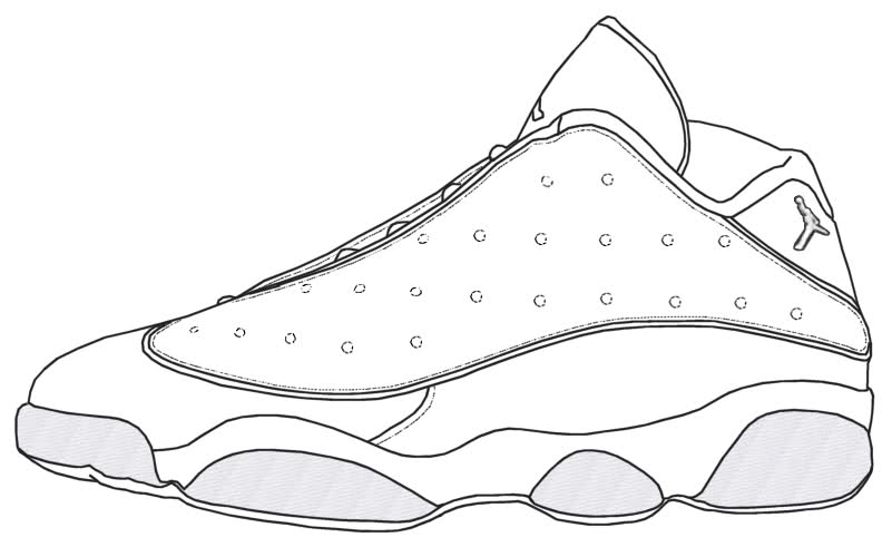 Jordan Retro Shoe Drawings How to Draw Jordan Retro 11
