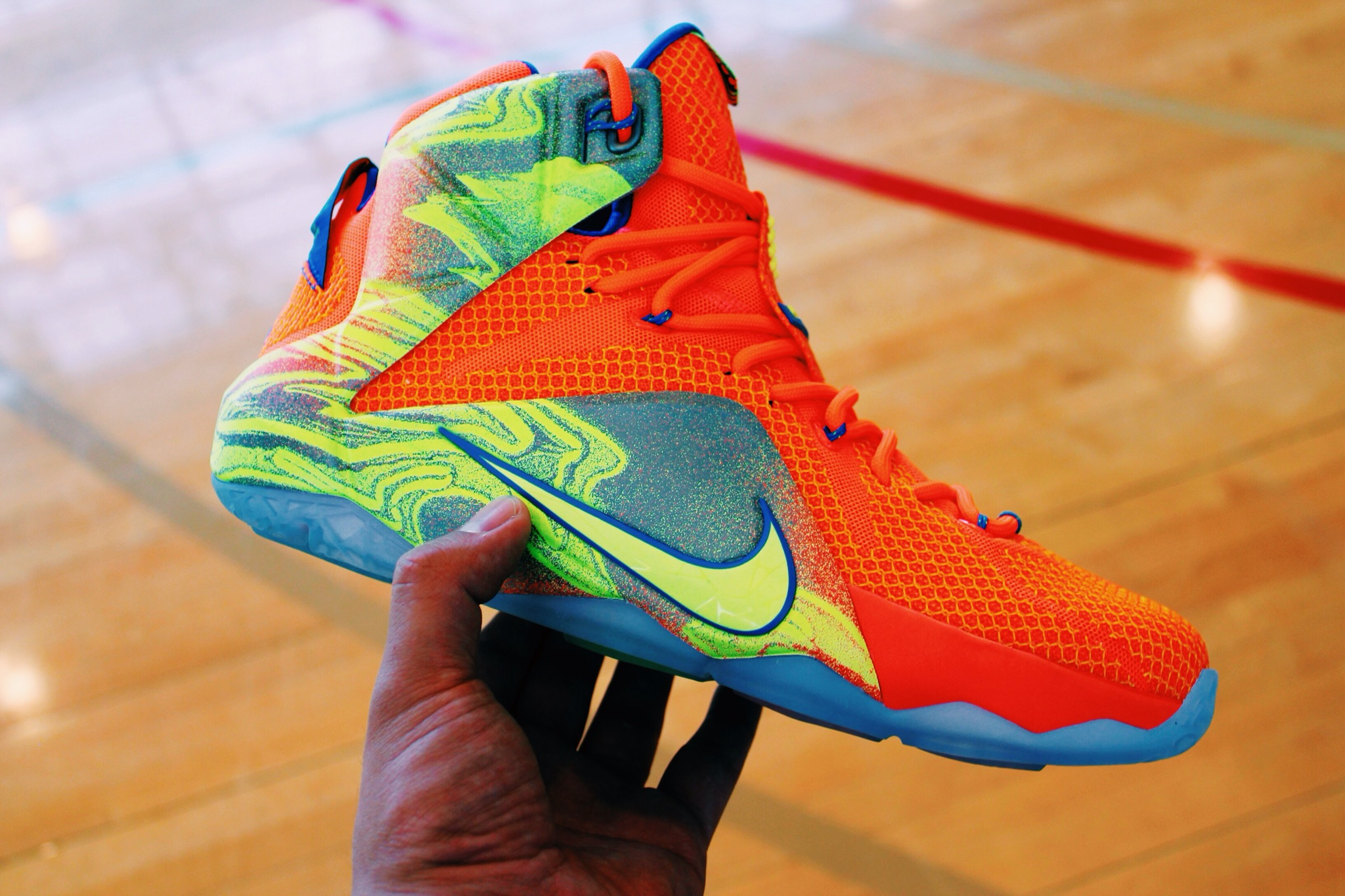 lebron 12 six meridians - photo #3