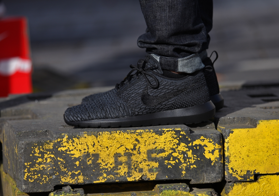 Nike Kaishi Run Black Black Anthracite