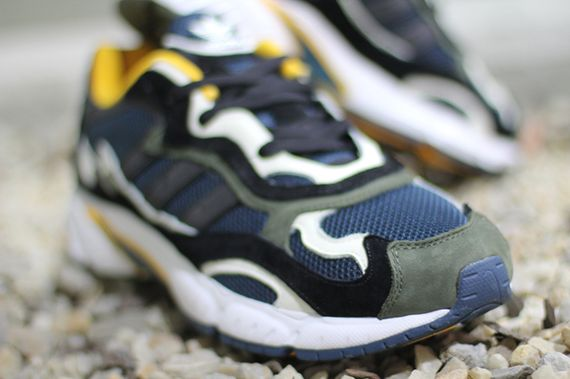 adidas originals-temper run-olive-navy-sunflower