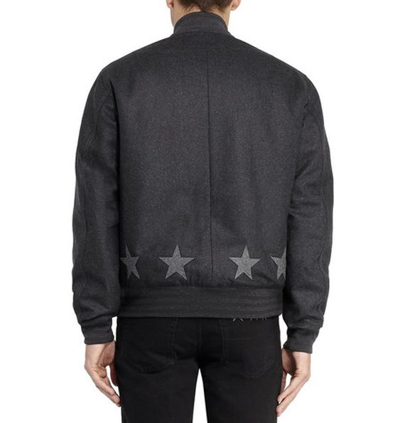 givenchy-star applique-wool bomber