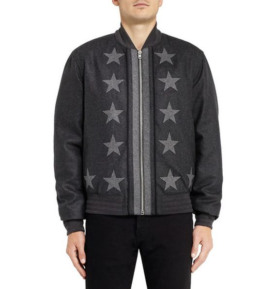 givenchy-star applique-wool bomber_04
