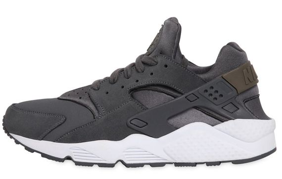 nike-air huarache-dark grey