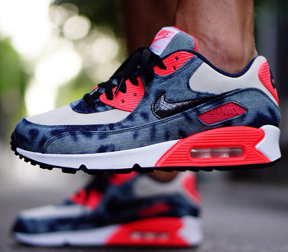 premium selection 9f574 e91b1 nike-air-max-90-infrared-washed-denim-2