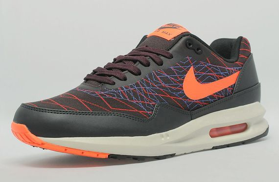 nike-air max lunar1-jacquard-team orange