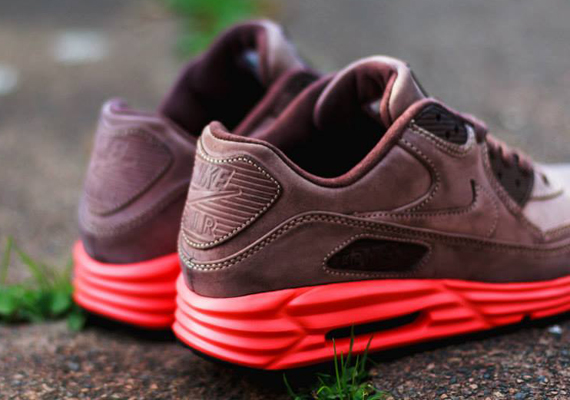 nike-air max lunar90-leather-mahogany