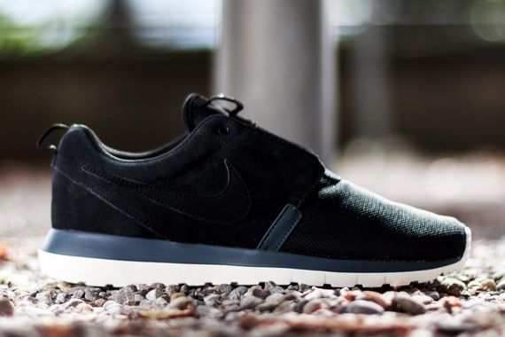 nike-roshe run nm-black