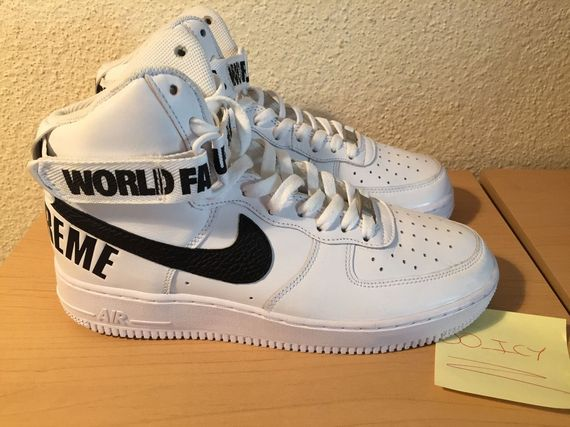 factory authentic cf8c0 bf0d6 nike-supreme-air force 1 high-white02