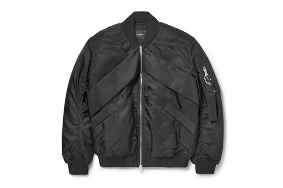 givenchy-fw14 shell bomber jacket