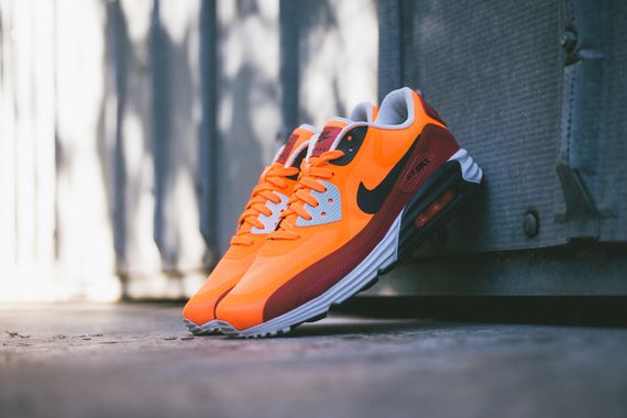 nike-air max lunar90-team orange-red clay