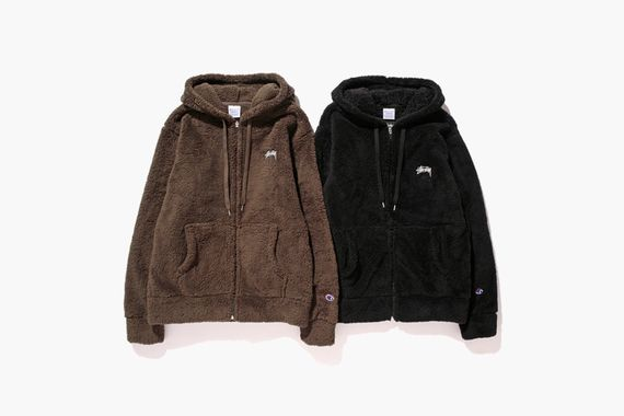 stussy-champion japan-fw14 fleece collection