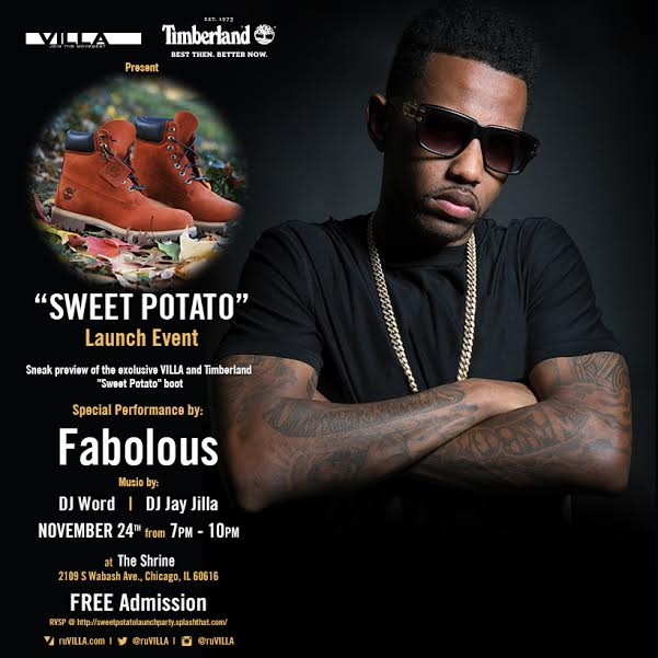 VILLA-Timberland-Present-Free-Sweet-Potato-6-Inch-Boot-Launch-Party