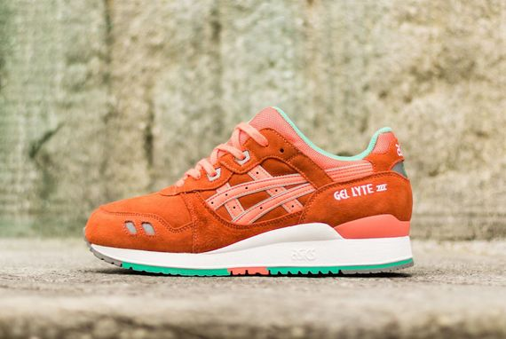 asics-gel lyte III-fresh salmon