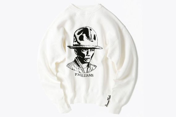 human made-beams-pharrell sweater