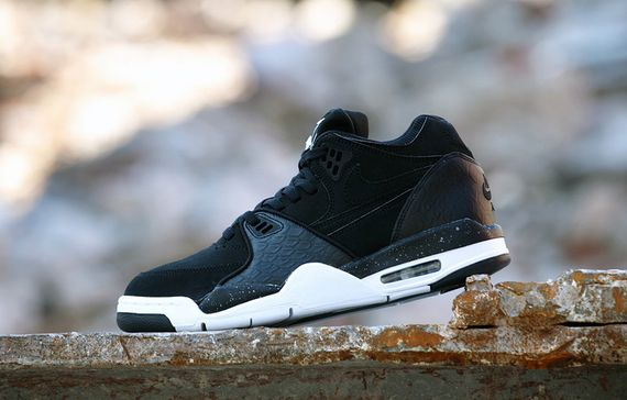 nike-air flight 89-black reptile