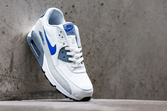 nike-air max 90-lyon blue