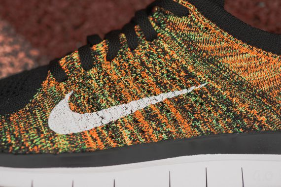 nike-free 4.0 flyknit-poison green-total orange_03