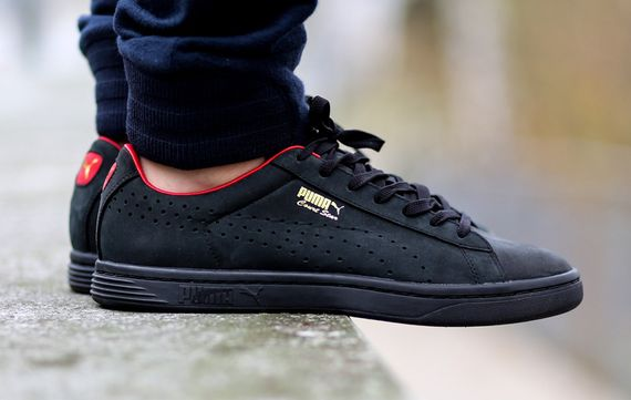 Puma Court Star OG - Black/High Risk Red