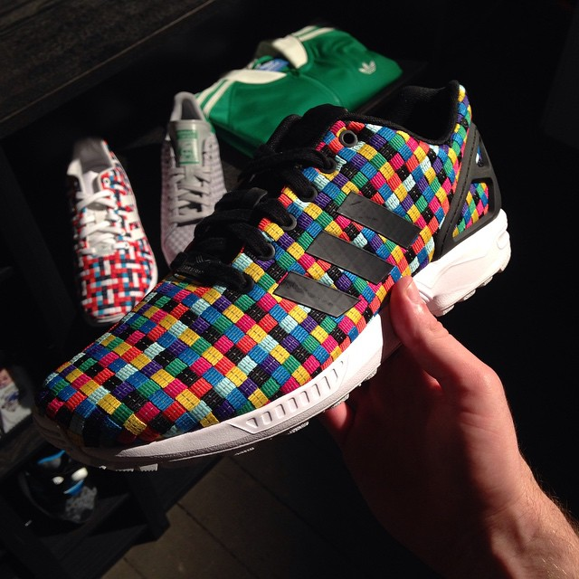 check out a6708 789dc colorful adidas zx flux