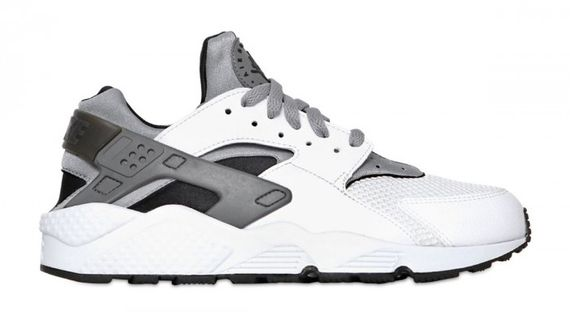 nike-air huarache-matte grey