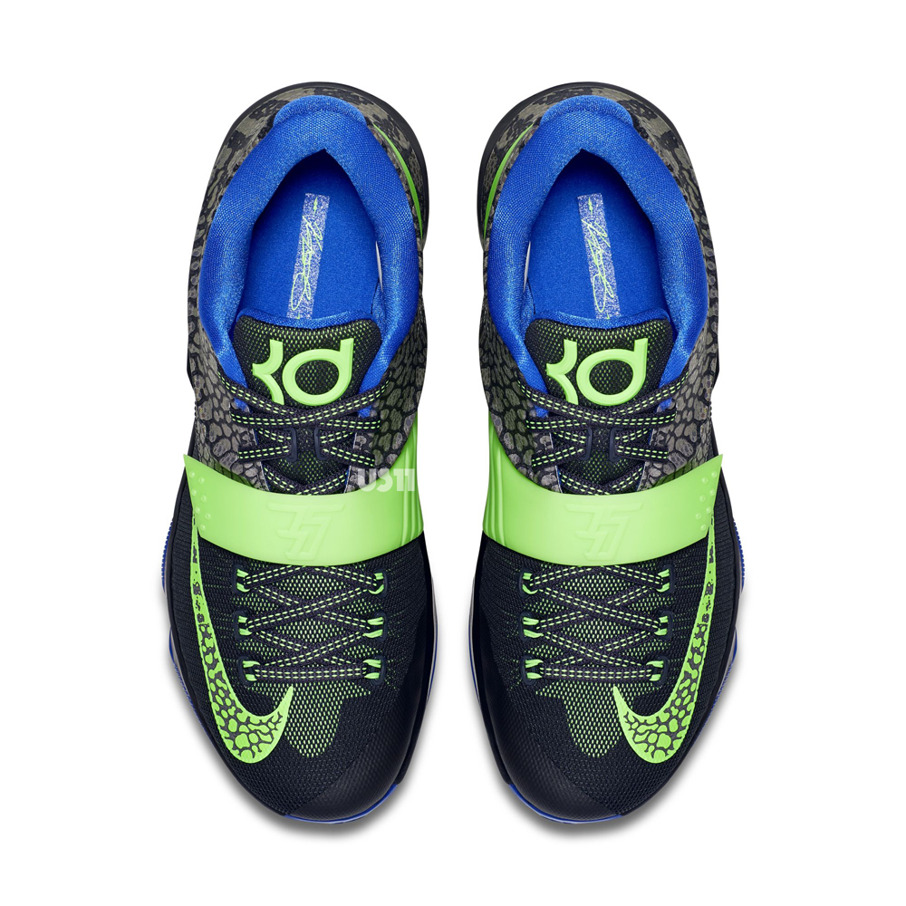 Nike-KD-7-Metallic-Pewter-Flash-Lime-Anthracite-Lyon-Blue-3