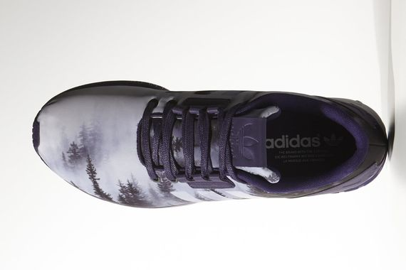 adidas-zx flux tech-misty winter forest