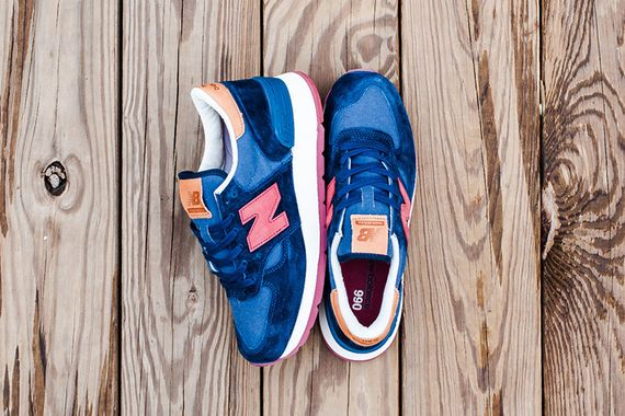 new balance-distinct weekender-990