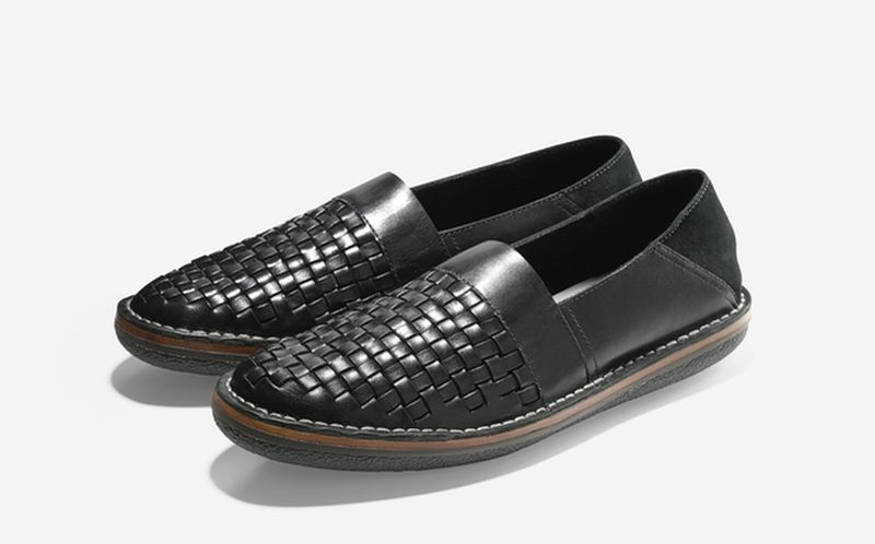 SP15_Cole Haan + Todd Snyder_Lewis Woven Loafer_Black_result
