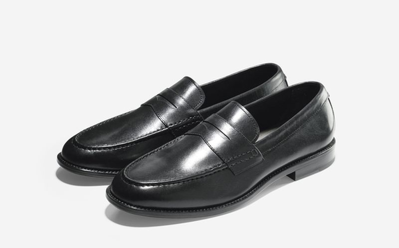 SP15_Cole Haan + Todd Snyder_Willet Penny Loafer_Black_result