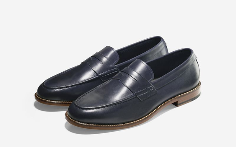 SP15_Cole Haan + Todd Snyder_Willet Penny Loafer_Blazer Blue_result