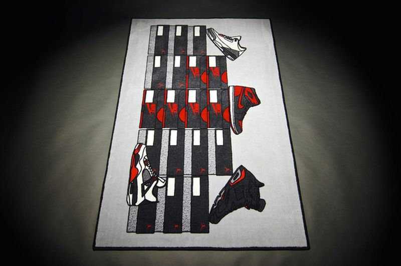 Air Jordan Retro Rug By Spilled Co
