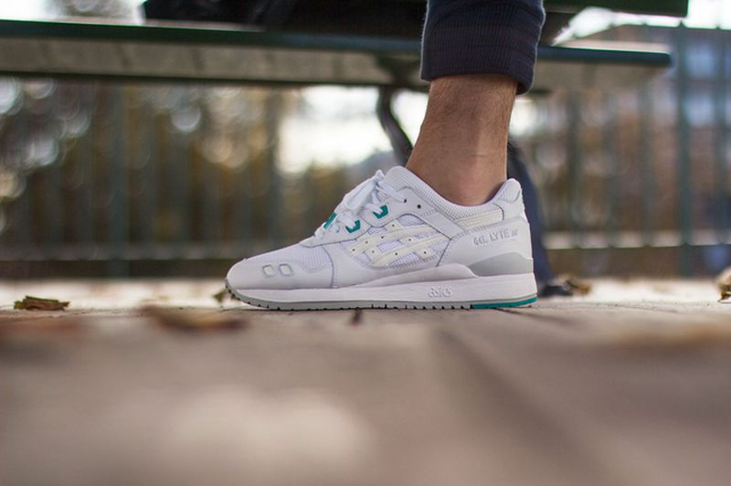 asics gel lyte 3 white mint