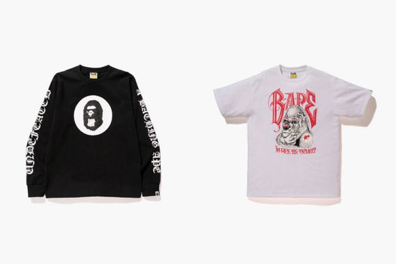 bape-undefeated-spring 15 capsule coll