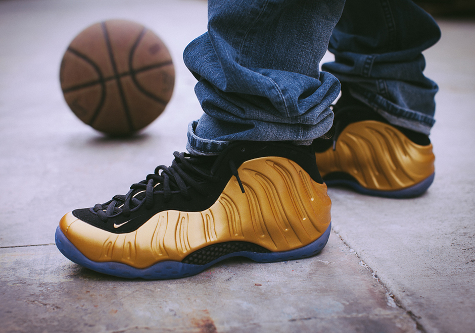b5c74cddbf2 Buy Cheap Nike Air Foamposite One Gold