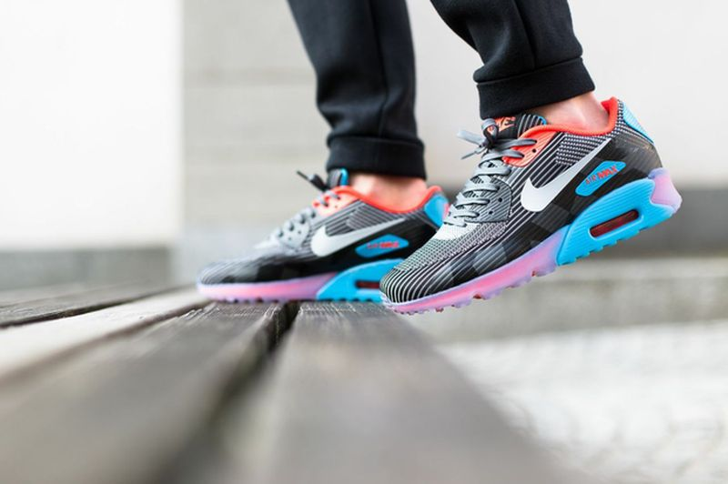 nike air max 90 knit jacquard ice