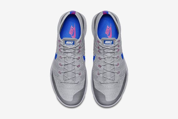 new york 78e6d 76b71 ... cheapest nike flyknit trainer chukka wolf grey lyon blue02 6986e 6e2fe