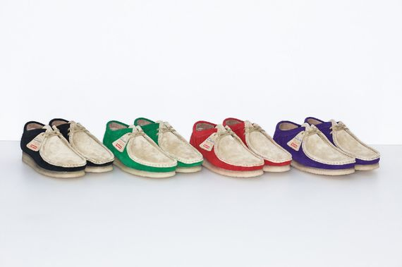supreme-clarks-wallabee low-ss15