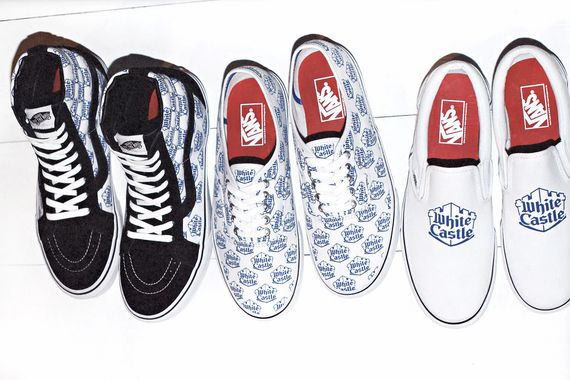 supreme-vans-white castle-ss15 collection