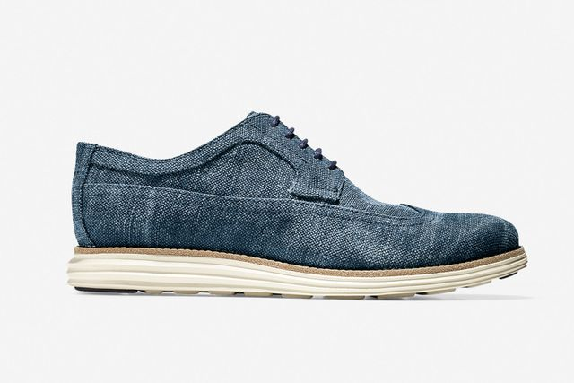 cole haan-lunar grand long wingtip-canvas collection