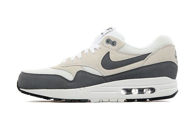 nike-air max 1-jd sports-white-dark grey