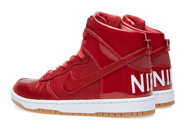 nike-dunk high lux sp-gym red