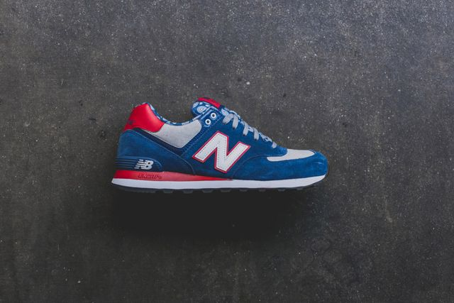 new balance-574-paisley red-blue pack